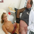 This horny doctor gets deep inside a teen