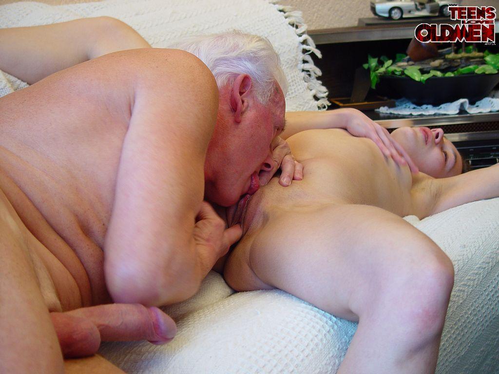 Teens love old men