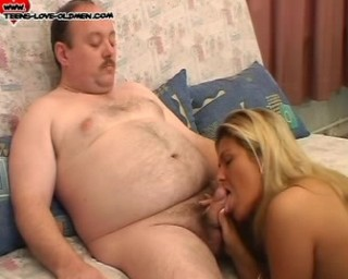 chubby teen fucked by an old man