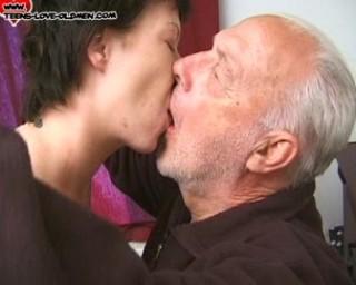 grandpa loving his granddaughter